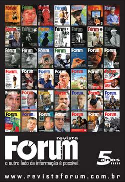 Revista Fórum 5 anos