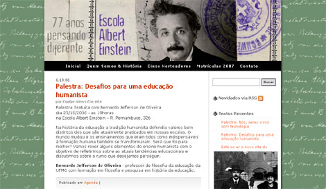 Site Escola Einstein