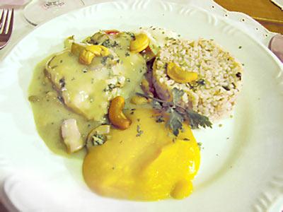 Prato criado pelo Chef Faustino