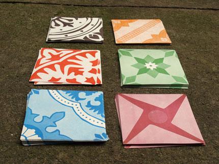 Grupo Poro: Azulejos de papel