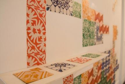 Grupo Poro - Azulejos de Papel - Exposição Campo Coletivo - Centro Cultural Maria Antonia, SP