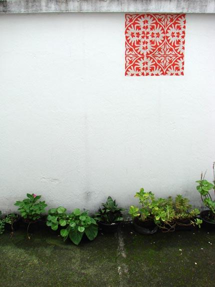 Grupo Poro - Azulejos de Papel instalados em casas