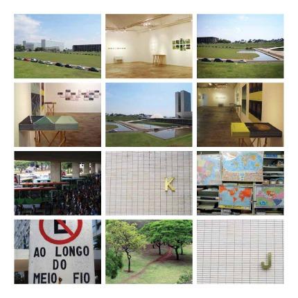 Cartografia afetiva de Brasília - Grupo Poro