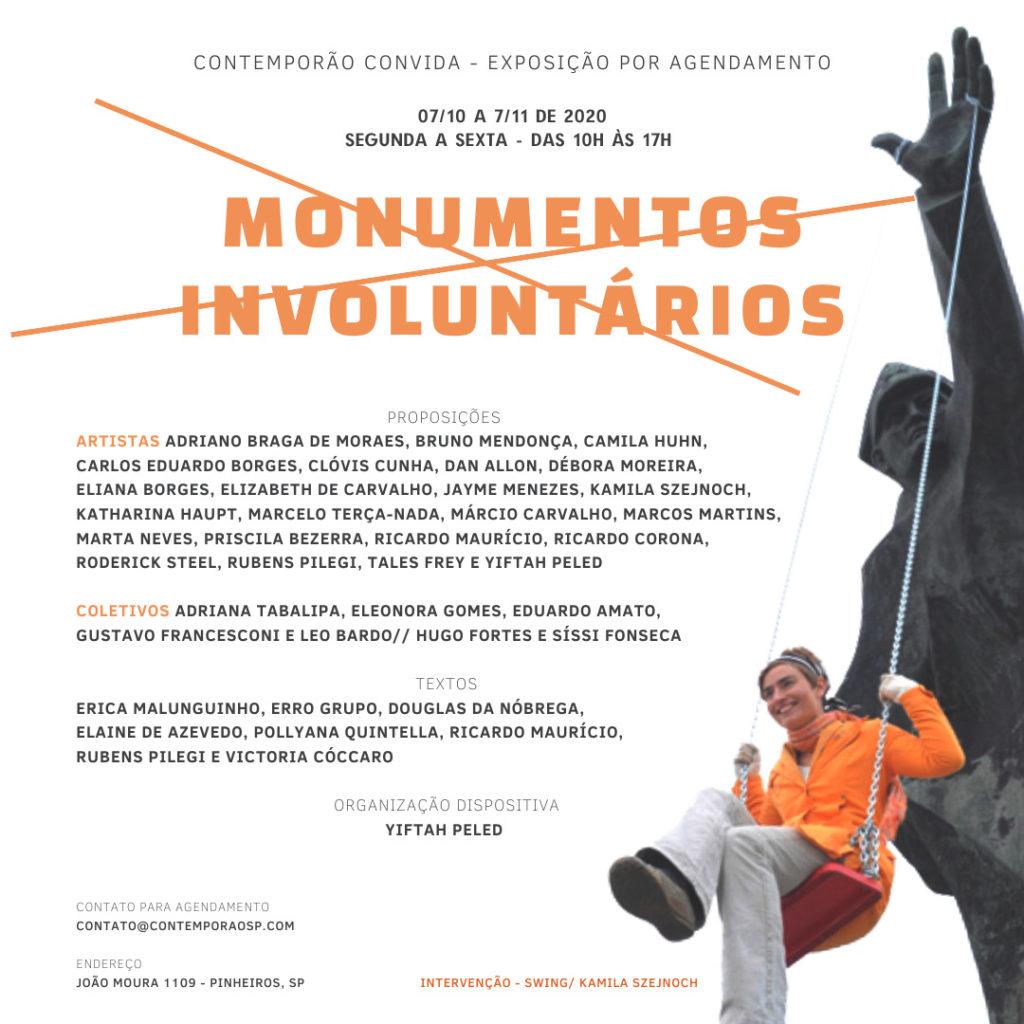 Monumentos Involuntários - exposição coletiva (Contemporão SP)
