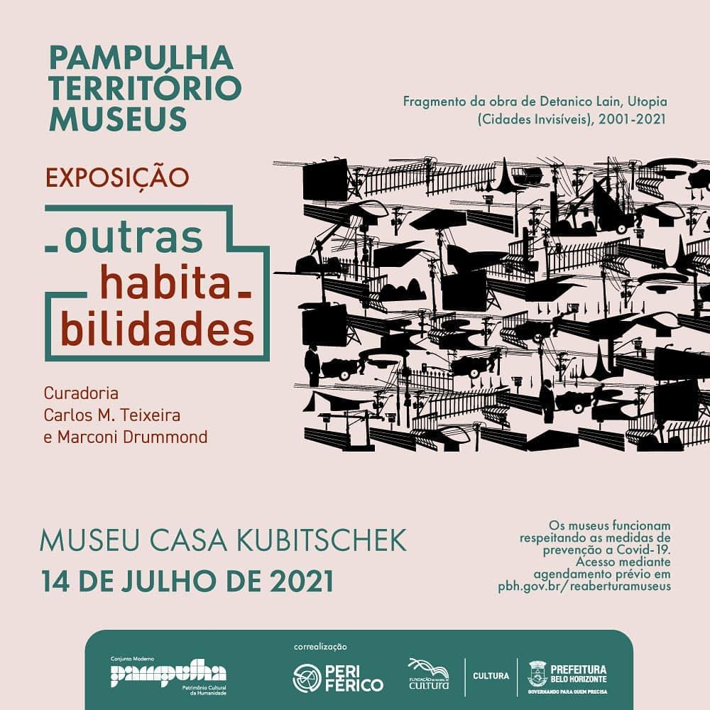 Outras Habitabilidades - Casa JK - Pambulha Território Museus